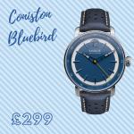 quality mens blue watch