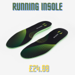 High performance insoles for sport