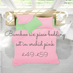 bright and funky bamboo bedding