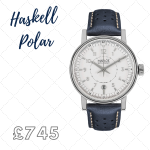 delightful watch with striking dial