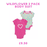 pack of 2 body suits