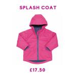 girls coat for rainy days