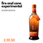 experimental whisky - hot on the palette
