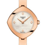 delicate rose gold ladies watch