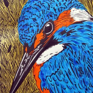 what is a linocut print