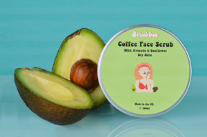 coffee face scrub from repurposed coffee ground