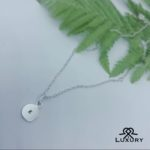 Hand Stamped Jewellery: A sterling silver necklace
