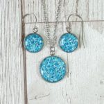 sparkly jewellery handmade in Sheffield